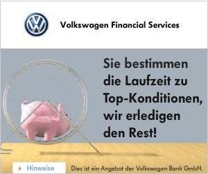 VW Bank Sparbrief und Sparplan in der Übersicht
